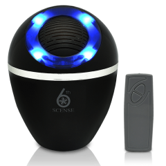 EB Cocoon Fragrance & Negative Ion Electric Diffuser - Black