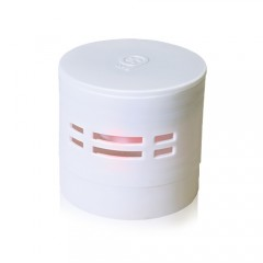 6th Scense Fragrance Car Dispenser (White) and 1 fragrance Refill