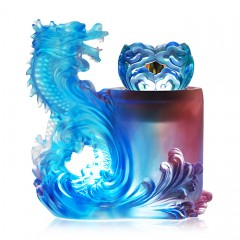Lazurite Dragon Blue