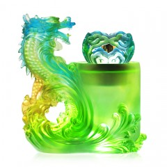 Lazurite Dragon Green