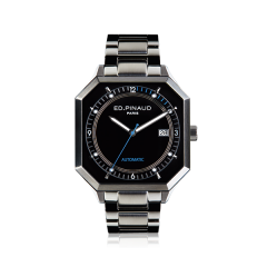 Automatic Watch - Steel Case, Black Dial, Bracelet