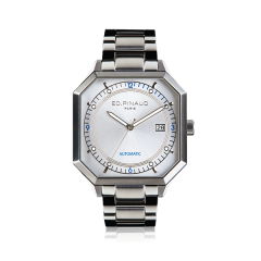 Automatic Watch - Steel Case, Silver Dial, Bracelet