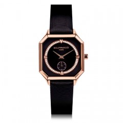 Night watch-Pink Gold PVD case, Diamond Circle