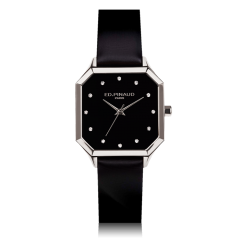 Night Watch-Steel Case, 12 diamonds