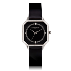 Night Watch - Steel Case, Bezel set with 76 Brilliant-cut Diamonds