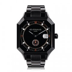 Black PVD (Black & Orange Dial)