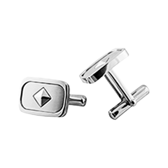 Cufflinks Fer A Cheval SS Neg Ion