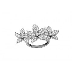 Ring L'essentielle WG Diamond - 3 Violets Ring 050