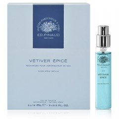 Refill EDT Vetiver Epice (15ml x 3)