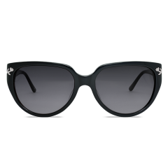 Sunglasses Les Clochettes (Black Smoke Lenses)