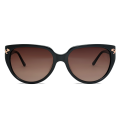 Sunglasses Les Clochettes (Brown Smoke Lenses)